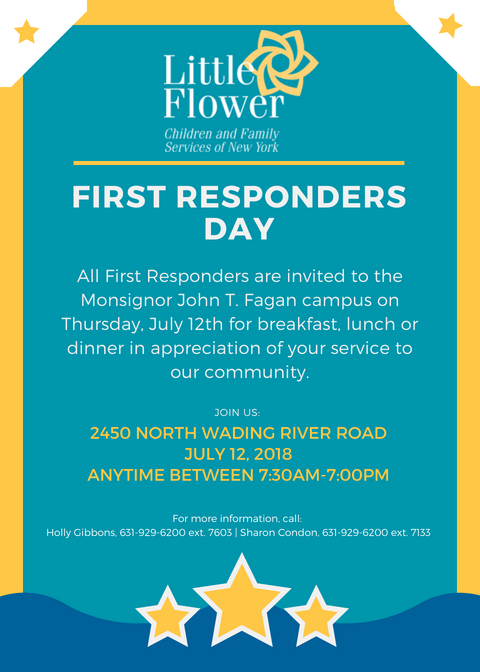 First Responders Day @ Monsignor John T. Fagan Campus | Wading River | New York | United States