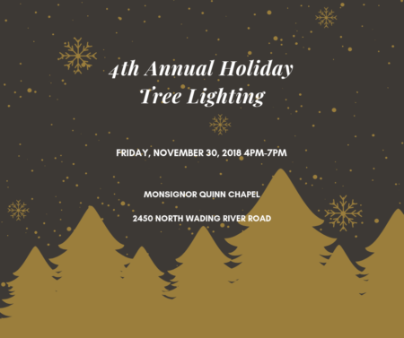 Annual Holiday Tree Lighting @ Monsignor John T. Fagan Campus | Wading River | New York | United States