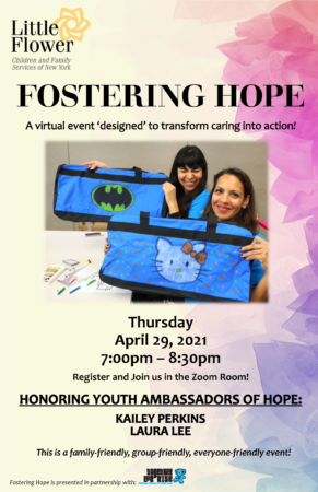 Fostering Hope @ Virtual via Zoom